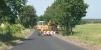 <p>Remont drogi na odcinku Horyniec - Radruż</p>