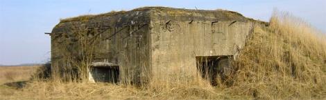 Schrony bojowe - bunkry - Linii Mołotowa