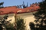 Spalony dach